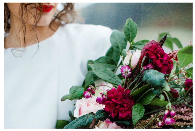 minimalist wedding amanda crean