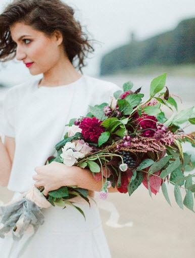 minimalist wedding idea