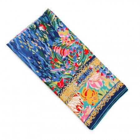 Hommage a claude monet silk scarf